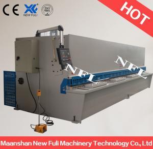 China hydraulic metal sheet cutter machine / Hydraulic Guillotine Shearing Machine with NC Control wholesale