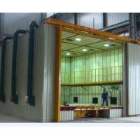 China CE Approved Indoor Air Sand Blasting Room With Abrasive Storage Hopper wholesale