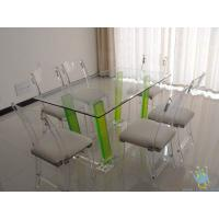 China clear acrylic top class furniture wholesale