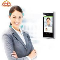 China Speed Recognition Face Access Control System Terminal 7 - Inch Screen wholesale