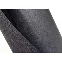China Textured HDPE Geomembrane Single Side Black Color For Cofferdam Construction wholesale