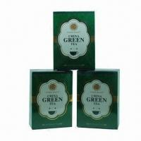 China Chinese Package Finest Green Tea, Bright Liquid and Strong Taste when Brewed wholesale