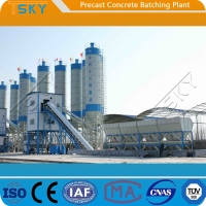China BP3000B Belt Conveyor Feeding 60m³/h Precast Batch Plant wholesale