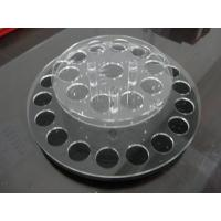 China Round acrylic lipstick display holder with holes / acrylic display shelves wholesale