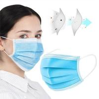 China Anti Virus 3 Ply Surgical Face Mask  Skin Friendly CE FDA Certification wholesale