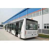 China 110 Passenger Airport Limousine Bus , 4 Stroke Diesel Engine Airport Coaches wholesale