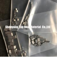 China Rectangle / Profiled Stellite 12 Band Saw Blade Teeth For Timber Wood Cutting wholesale