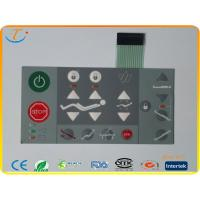 China Printing Adhesive Membrane Switch Keypad Waterproof Custom For Machine wholesale