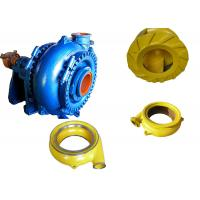 China High Chrome Alloy Sand Dredging Pump , Sand Removal Pump One Stage Structure wholesale