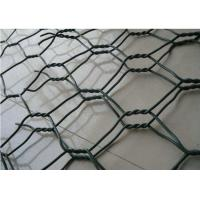 Quality PVC Coated Galfan Gabion Wire Mesh 2 X 1 X 0.5 M For River Protection for sale