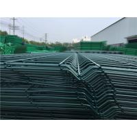 China 3D Curved Bending Metal Mesh Fencing Broad Vision With 2 / 3 / 4 Folds wholesale