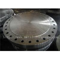China P355QH EN10273 Carbon Steel Forged Disc  Pressure Vessel Blank Flange wholesale