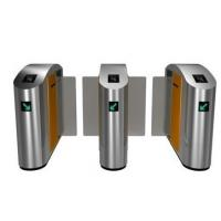 China Waist High Optical Turnstiles Barrier Indoor wholesale