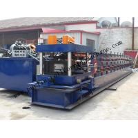 China Hydraulic PLC Control Purlin Roll Forming Machine , Z Purlin Making Machine wholesale
