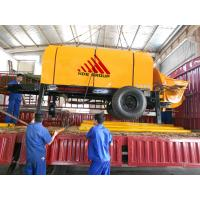 China 80m3/h Diesel Engine Concrete Pump Trailer Mounted Concrete Pump wholesale
