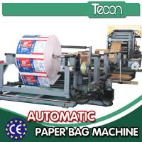 China Custom Multi function Cement Paper Bag Making Machine High Efficiency wholesale