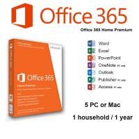 Quality 32 / 64 Bit Microsoft Office 365 Product Key Home Premium Online Subscription for sale