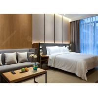 China Modern Laminate Hotel Bedroom Furniture Sets Optional Size Plywood MDF Materials wholesale