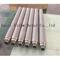 China Stainless steel powder sintering filter Stainless steel powder sintering filter material w wholesale