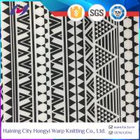 China Egypt Africa Printed Two Way Stretch Polyester Lycra Stretch Fabric Material For Swimwear on sale