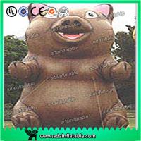 China Brand New Event Animal Advertising Inflatable Pig Replica For Sale wholesale