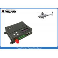 China 1W RF UAV Video Link Transceiver TDD - COFDM Wireless Image Sender and Receiver Lightweight wholesale