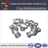 China Customized Carbon Steel Pipe Fittings By Investment Casting And CNC Machining Process wholesale