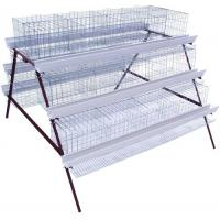 China Q235 Layer Chicken Battery Cages Chicken Feeder for Poultry Farms wholesale