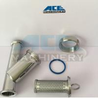 China DIN/SMS/3A Sanitary Stainless Steel 304/316L Y Type Welded/Clamped/Threaded Strainer wholesale