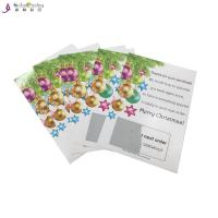 China Professional Card Printing Services Scratch And Win Card For Promotion wholesale