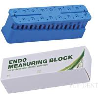 China cheap autoclavable dental endo measuring block wholesale