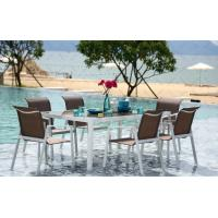 China Home furniture aluminum dinning table-15018 wholesale