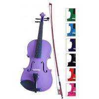 China Blue / Brown Classic Student Handmade Violin 1 / 8 Size With Ebonized Fingerboard wholesale