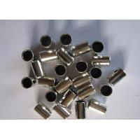 China Sliding  Stainless Steel Bushing , PTFE Self - Lubrication Multilayer Composite Bearings wholesale