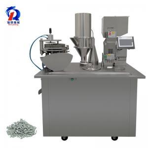 China Pharmaceutical Empty Capsule Filling Machine / Semi Auto Capsule Filler Machine wholesale