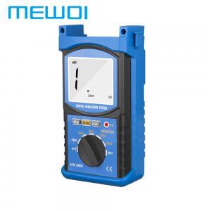 China MEWOI68G 2500V/1MΩ~20GΩ/1~750V Digital Insulation Tester wholesale