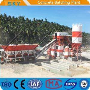 China SGS 18.5x2KW 50m3/h HZS50 RMC Batching Plant wholesale