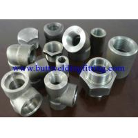 China Steel Forged Fittings A182 F51, F52 , F53 , F55 , Elbow , Tee , Reducer , Nipple, 3000LB  ANSI B16.11 wholesale