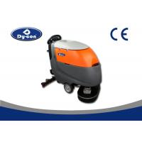 China Automatic Floor Scrubber Dryer Machine 180 Rpm Brush Speed One Key Control wholesale
