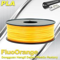 China 1.75mm PLA   Fluorescent  Filament  3D Print Material Stiffness High wholesale
