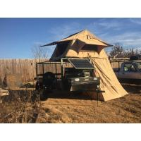 China Water Resistant 4x4 Roof Top Tent Easy Operate With Side Awning CE Certificated wholesale