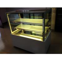 China Commercial Pastry Desert Cake Display Showcase / Refrigerated Bakery Display Case wholesale