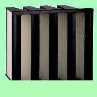 China V-series density pleated air filter wholesale