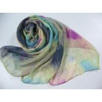 China Rainbow Printed Polyester Scarf (HP-C2406) wholesale