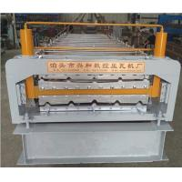China European Style Industrial Roofing Sheet Making Machine With PLC Control System on sale