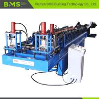 China Stable Dual Door Rail Roll Forming Machine Convenient Operate Highly Efficient wholesale