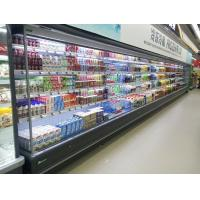 China Supermarket Vegetable Multideck Open Chiller / Display Refrigerator Energy Saving wholesale