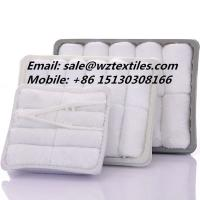 China Airplane towel disposable hot cold hand towel wholesale
