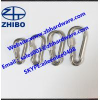 China DIN 5299CSnap hook /carabiner/safety hook with safety screw/lock/nut wholesale