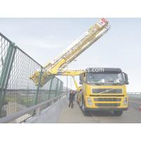Buy cheap Horizontal Under Bridge Platform Bridge Inspection Vehicle VOLVO 8x4 309KW 420HP from wholesalers